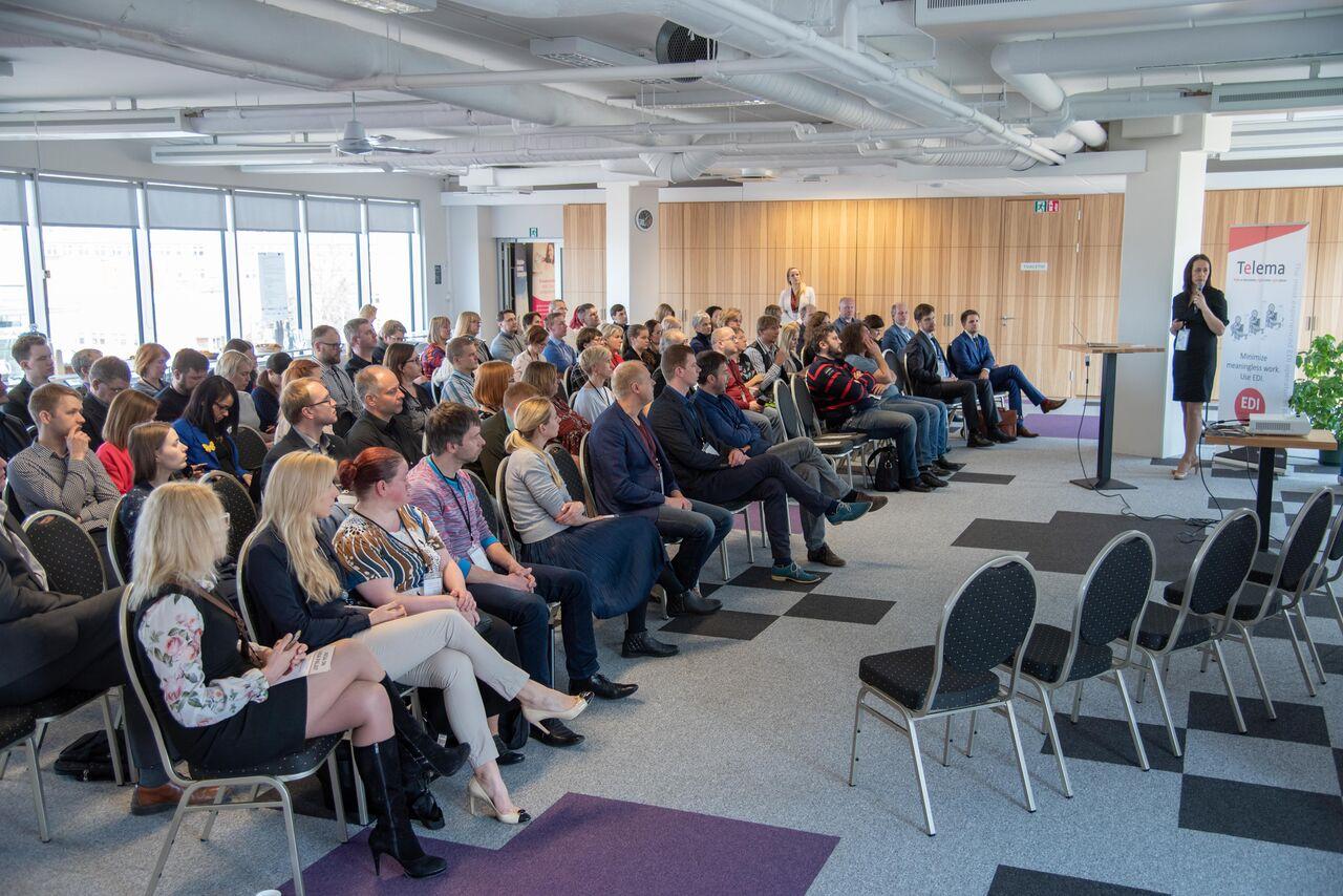 Piiriüleste e-arvete seminar IOB projekti raames tõi kohale üle 100 huvilise
